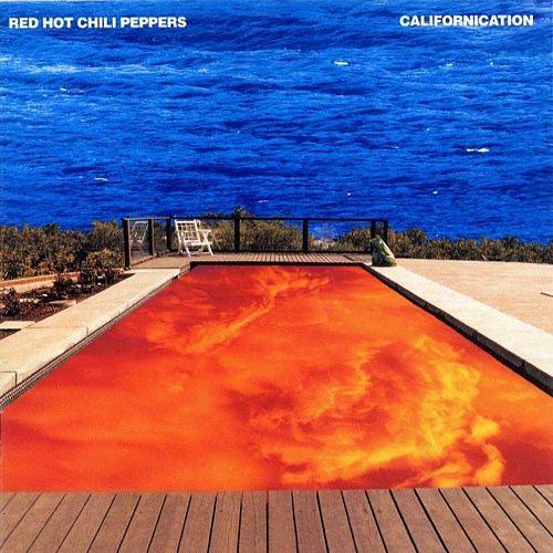 La pochette de l'album Californication; psychédélique-nineties à souhait