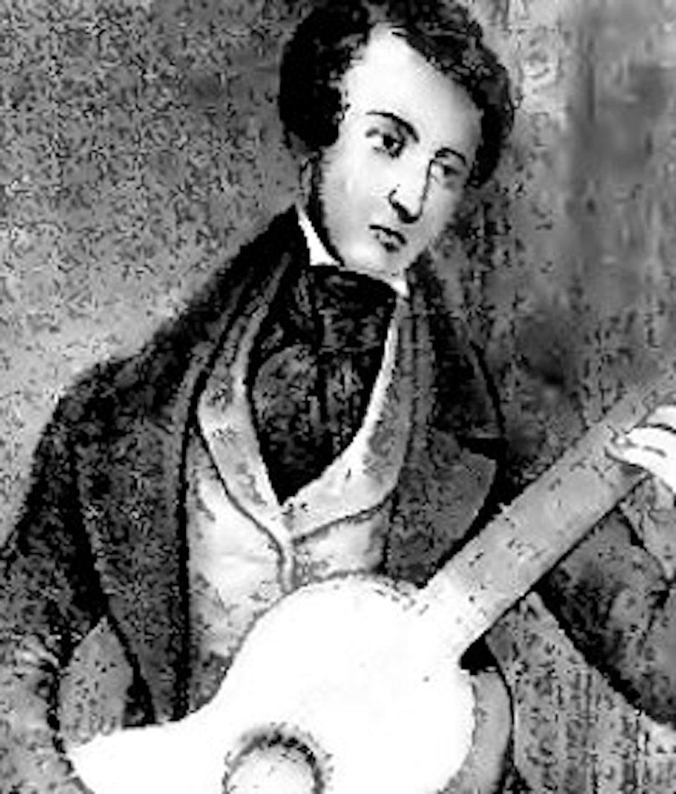 Matteo Carcassi guitariste classique