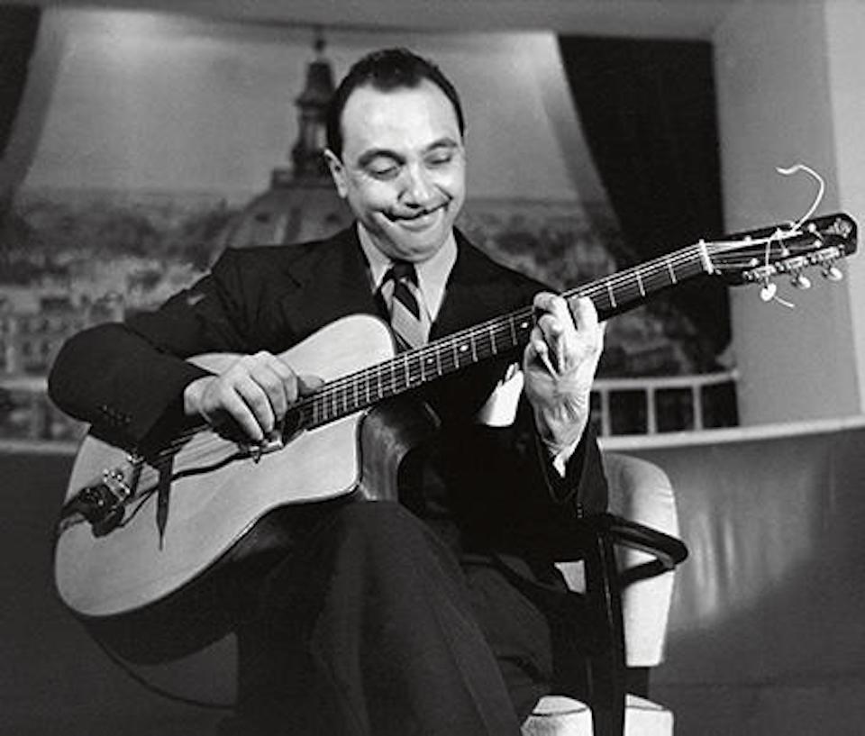 Django Reinhardt guitariste classique