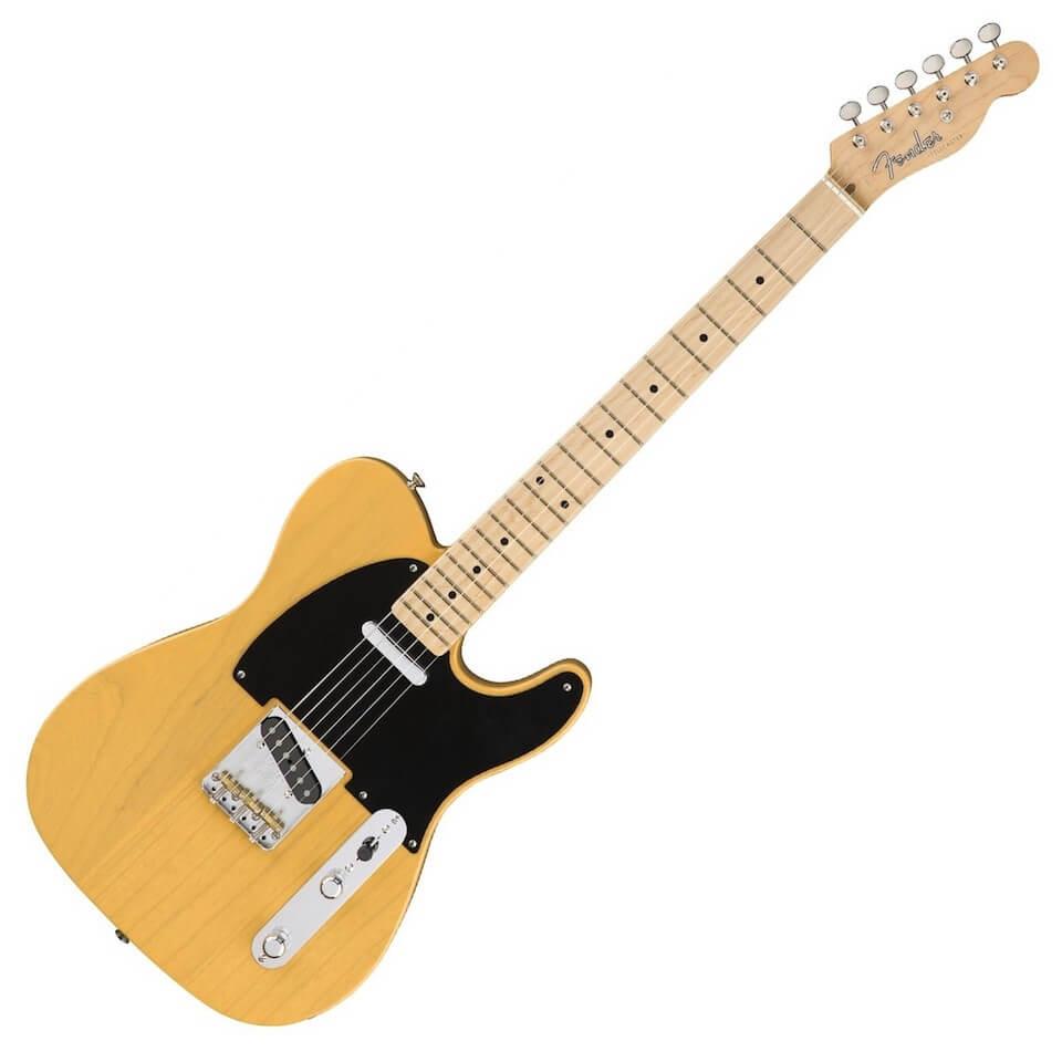 Telecaster Fender première guitare électrique