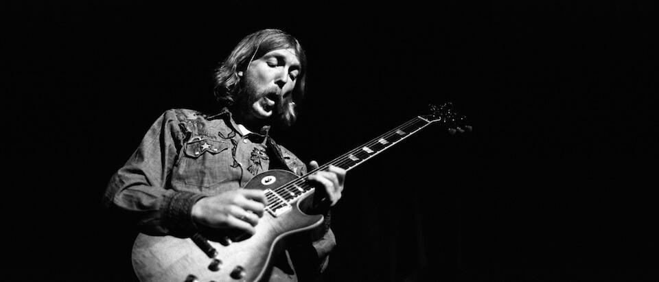 Howard Duane Allman meilleur guitariste américain