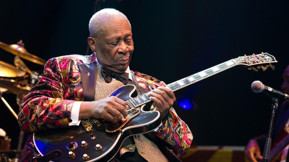 B.B King meilleur guitariste jazz