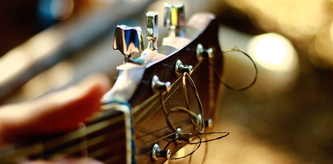 problème corde qui frise guitare