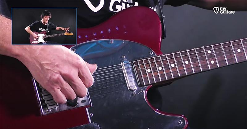 accorder sa guitare en open tuning
