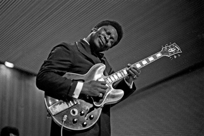 BB King dans les années 1950 guitare blues