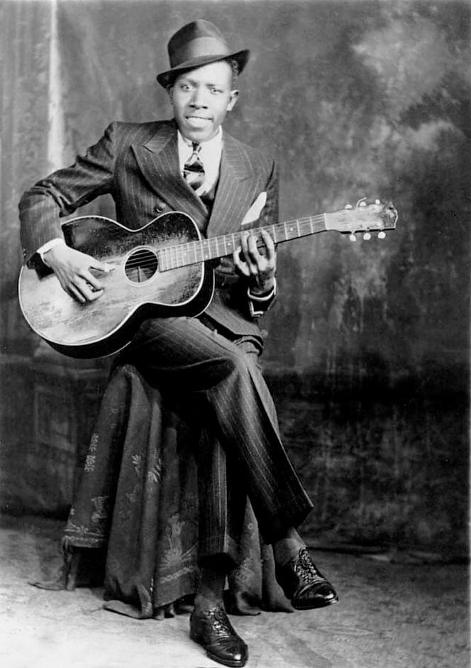 Robert Johnson meilleur guitariste blues