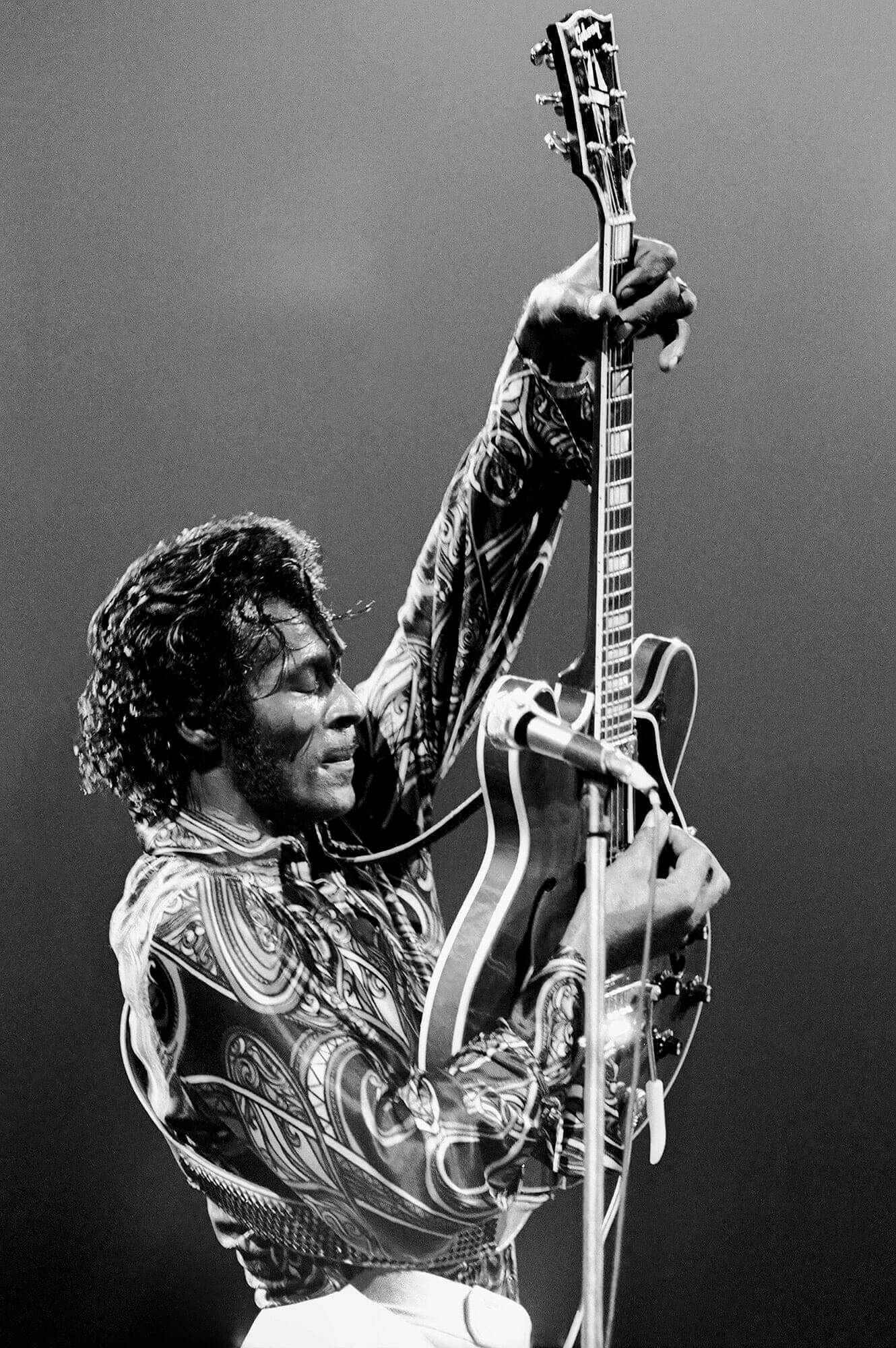 Chuck Berry à la guitare