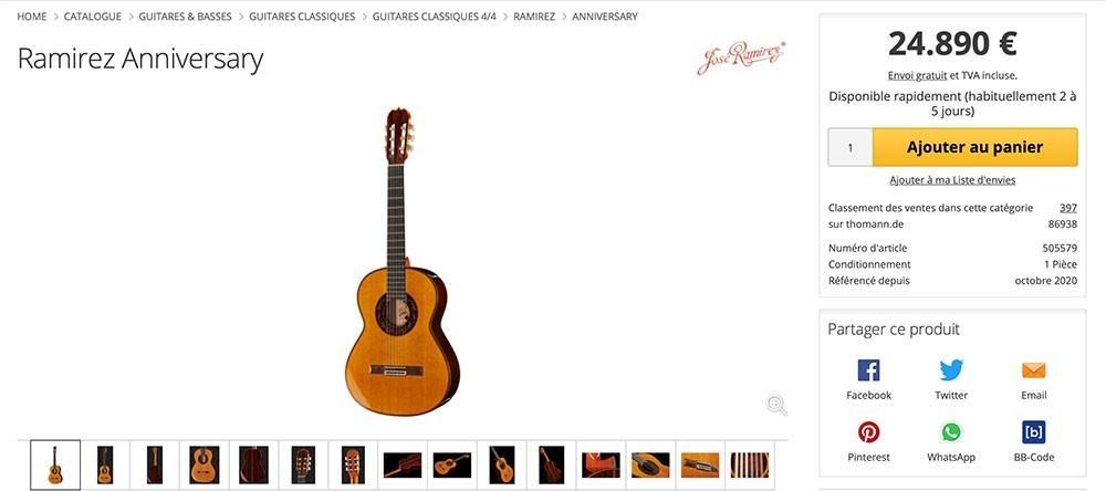 Choisir sa guitare gros budget