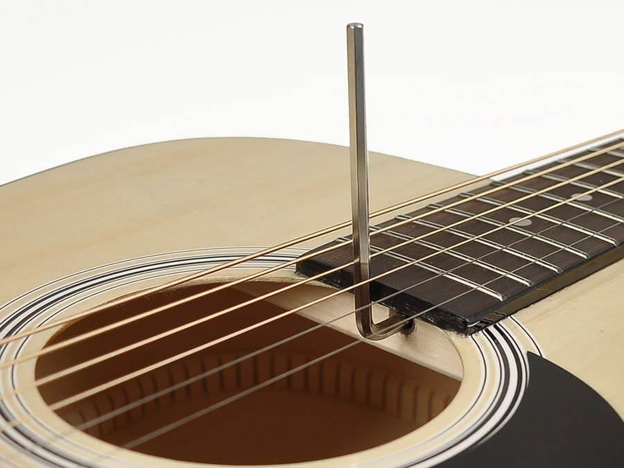 Truss rod guitare Folk