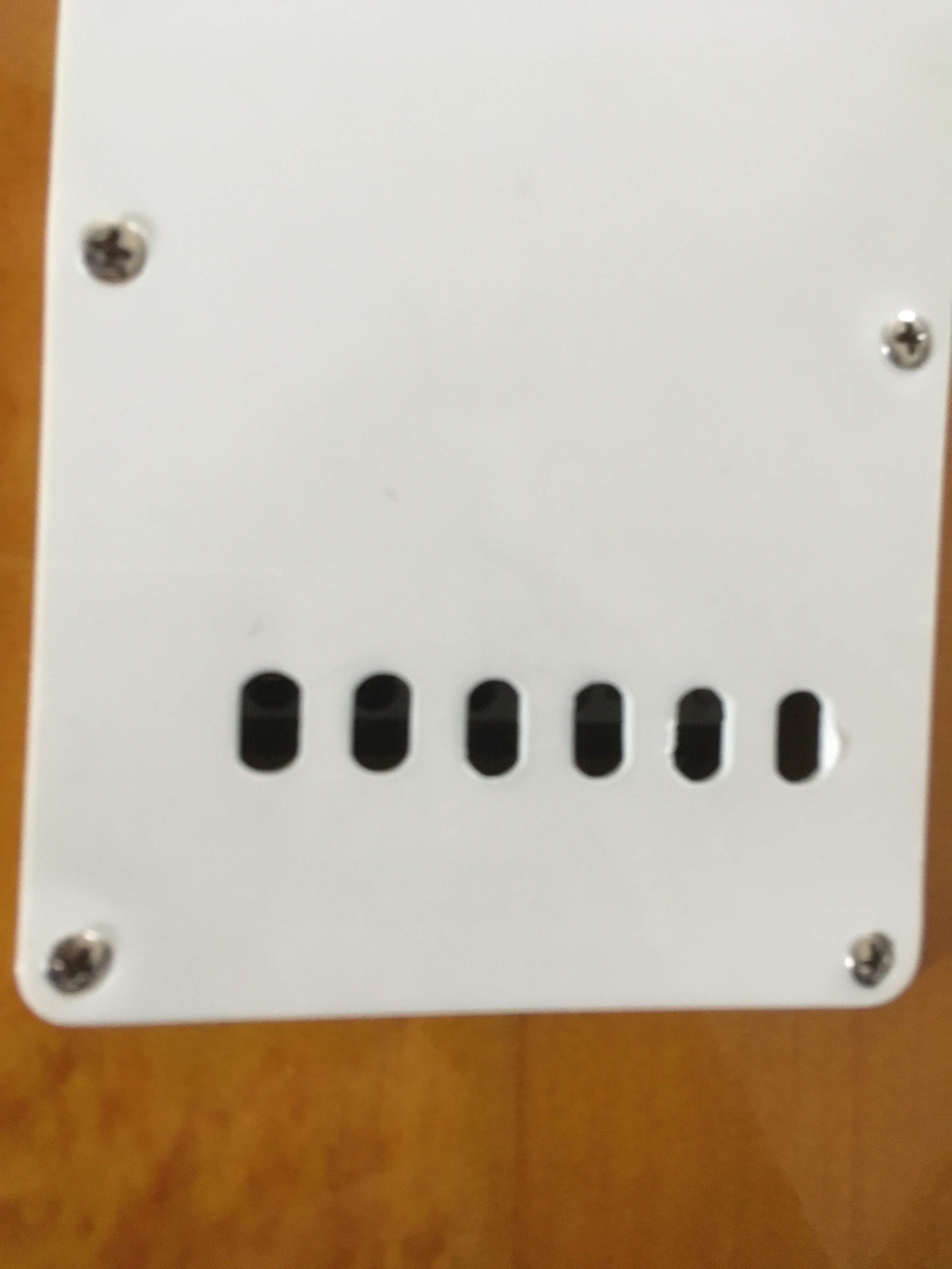Plaque stratocaster