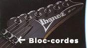 Bloc cordes guitare floyd rose