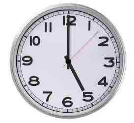 Turnaround Time Clock