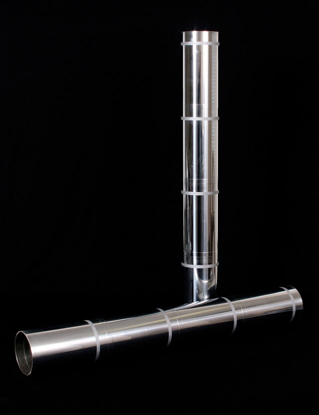Hard Chrome Plated Mirror Finish Textile Winder Roll