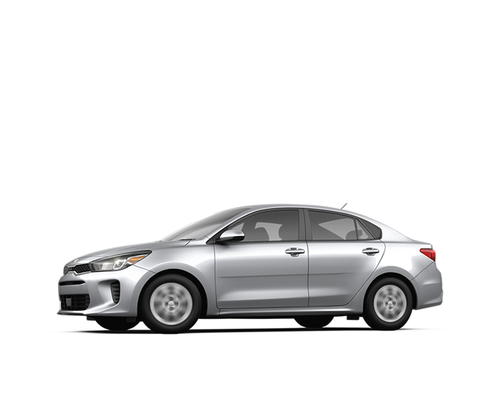 Fuel efficient silver car