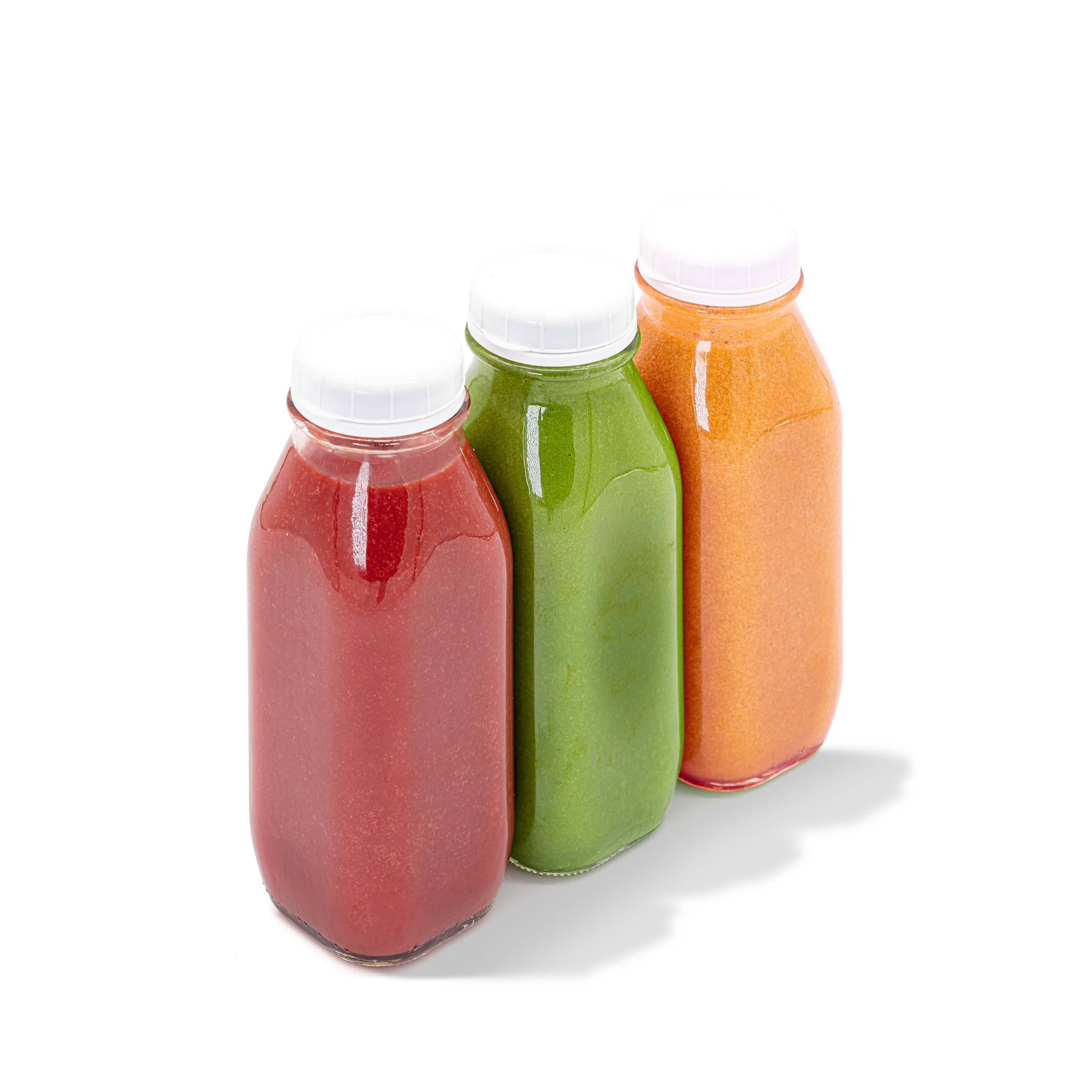Three 17oz fresh-blended, chef-created smoothies