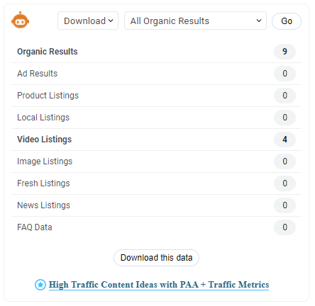 Content marketing tool example. How to use SEO Minion.