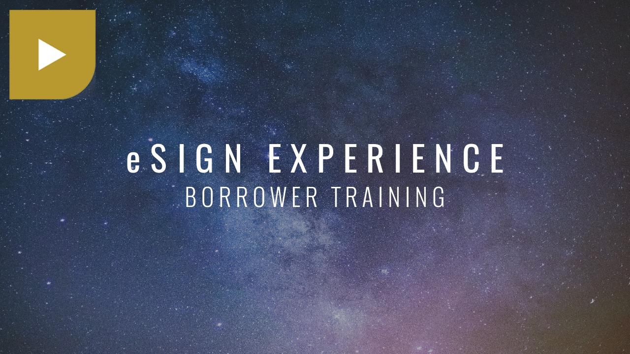 eSign Experience