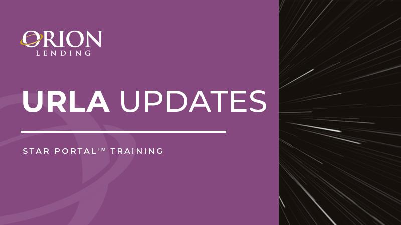 URLA Updates