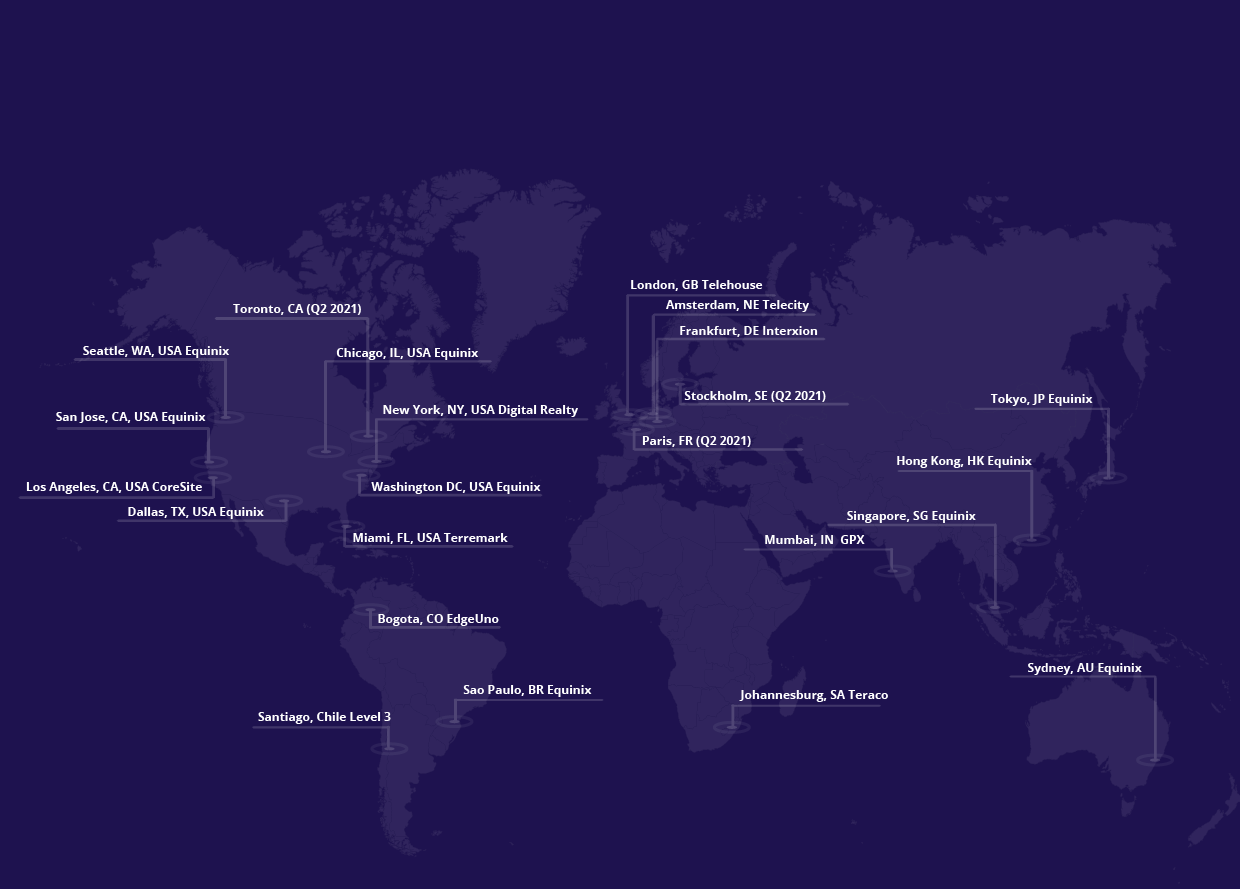 Where is DNS located - Map