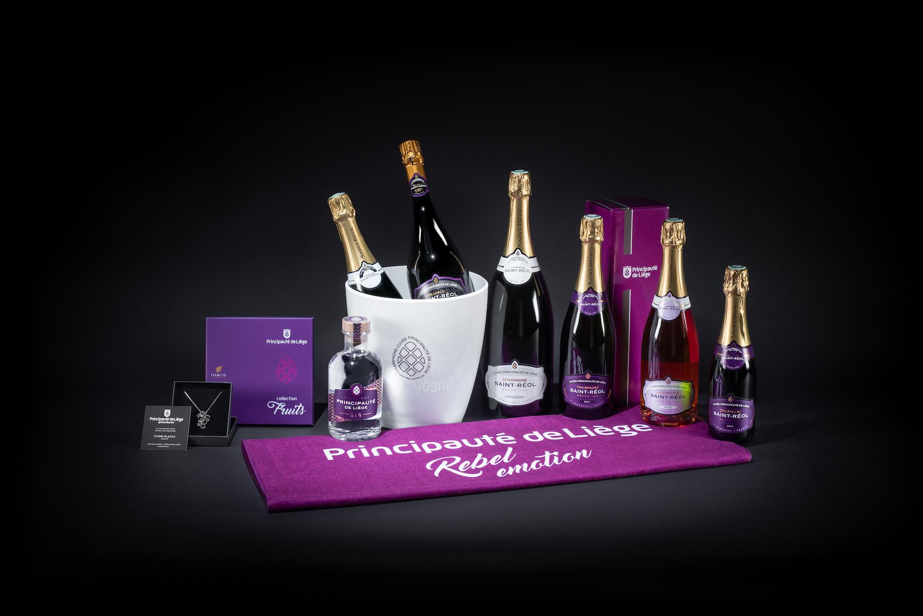 la gamme de produits Principauté de Liège