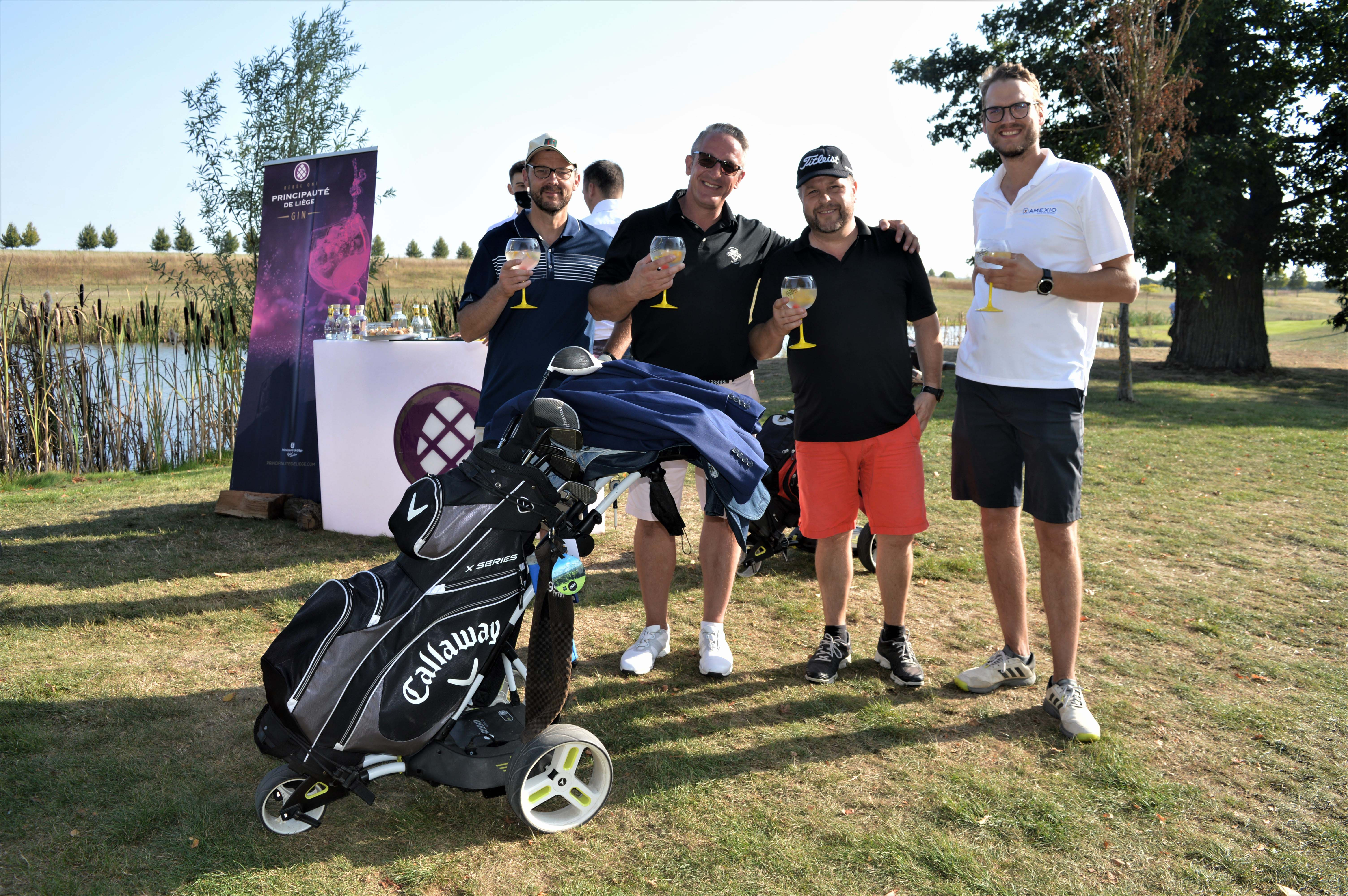 Le tournois Golf 4 Life sponsorisé par Principauté de Liège