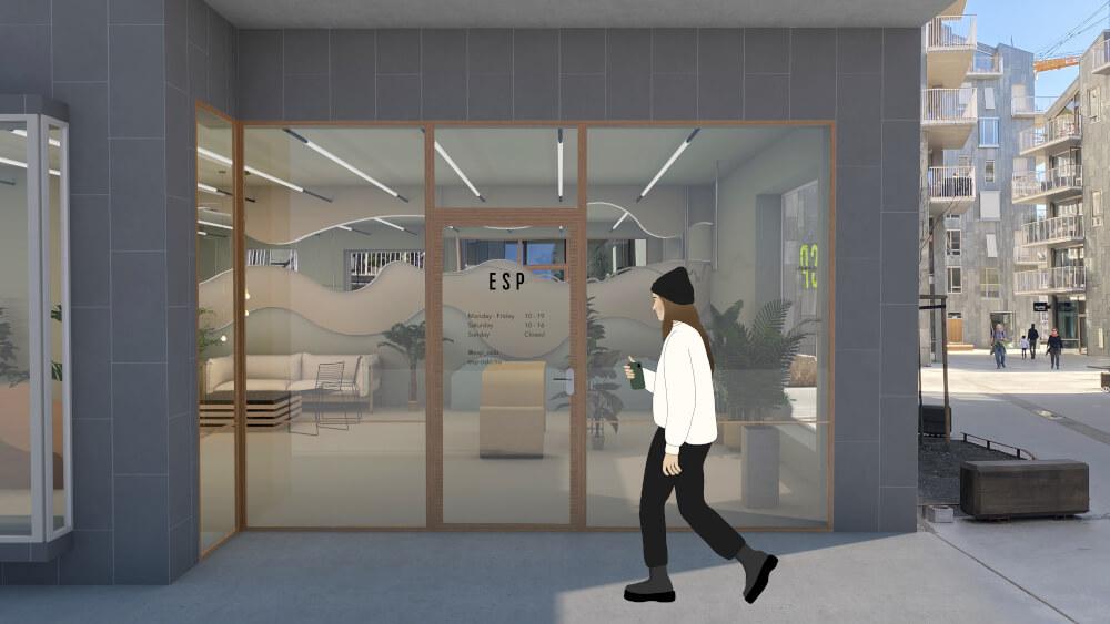 Westerdals institutt for kreativitet, fortelling og design - ESP showroom