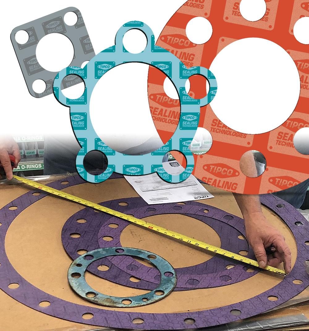 TIPCO Sealing Technologies - Custom Gaskets