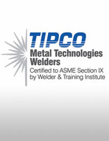 ASME certified welders
