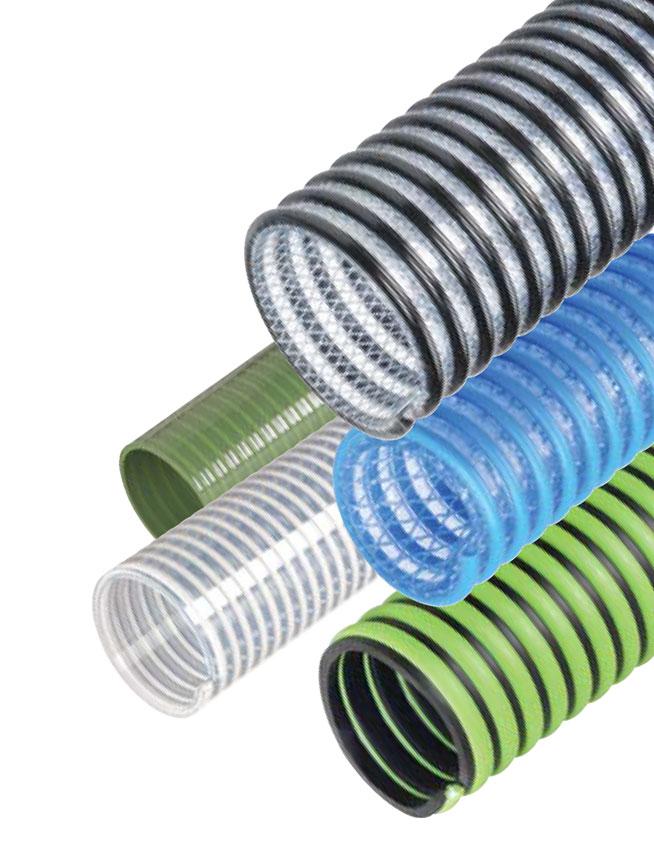 Kanaflex PVC, rubber, urethane, polypropylene, ducting hoses