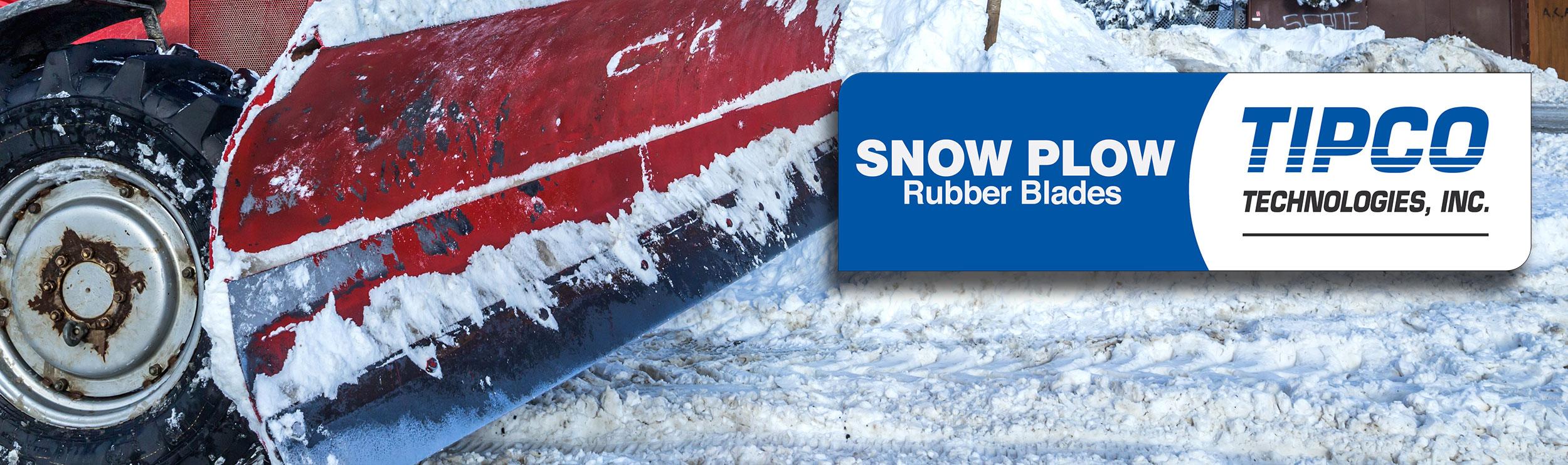 Rubber Snow Plow edge