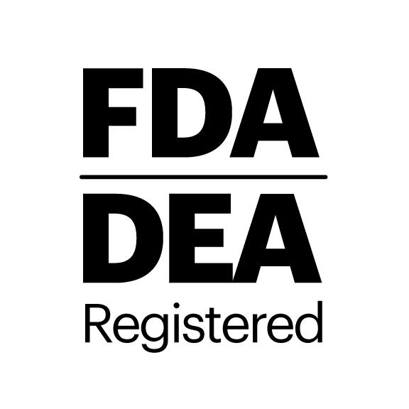Badge reading 'FDA Registered'