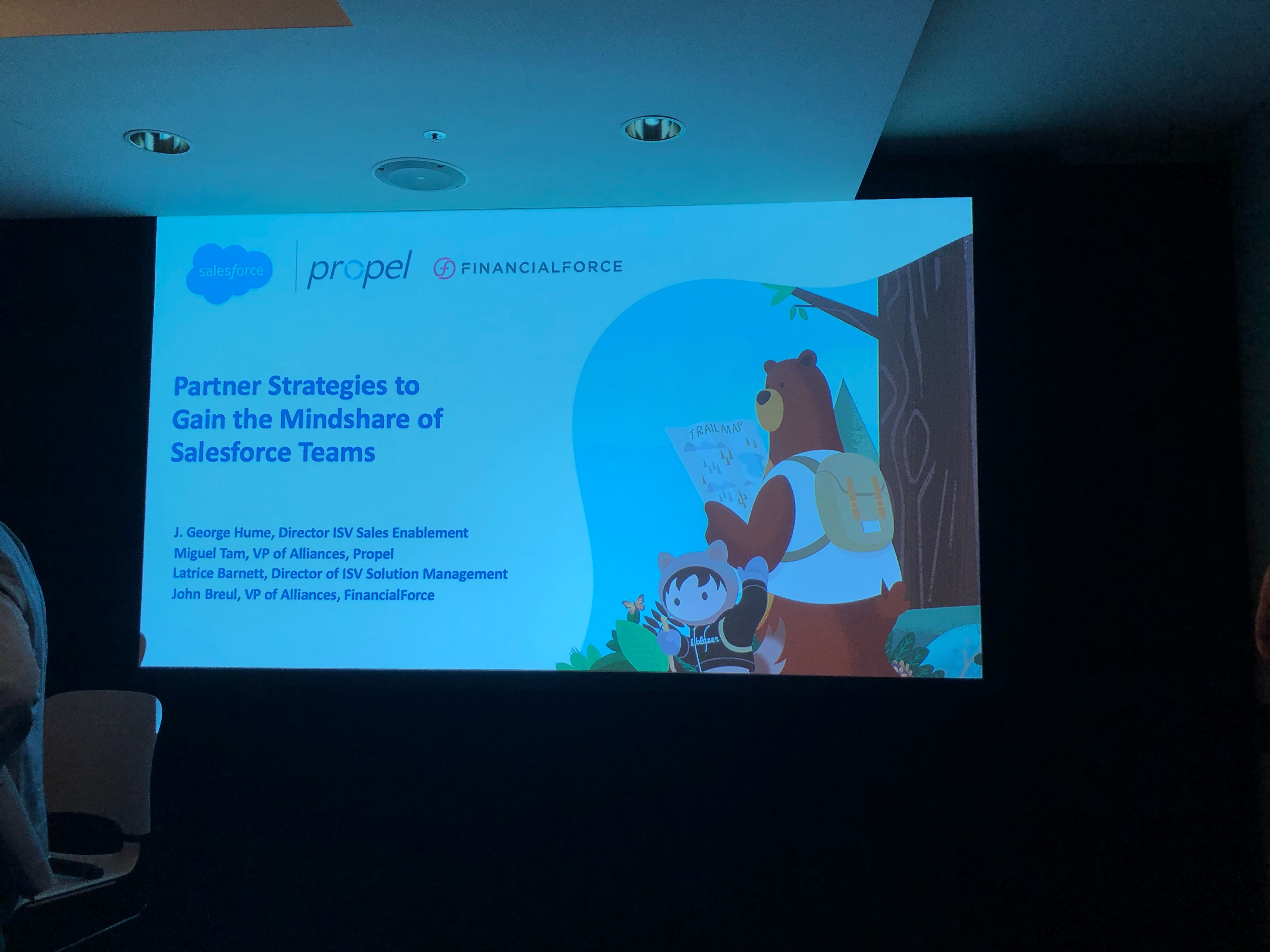 Propel at Dreamforce 2019