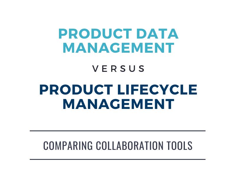 PDM vs PLM infographic