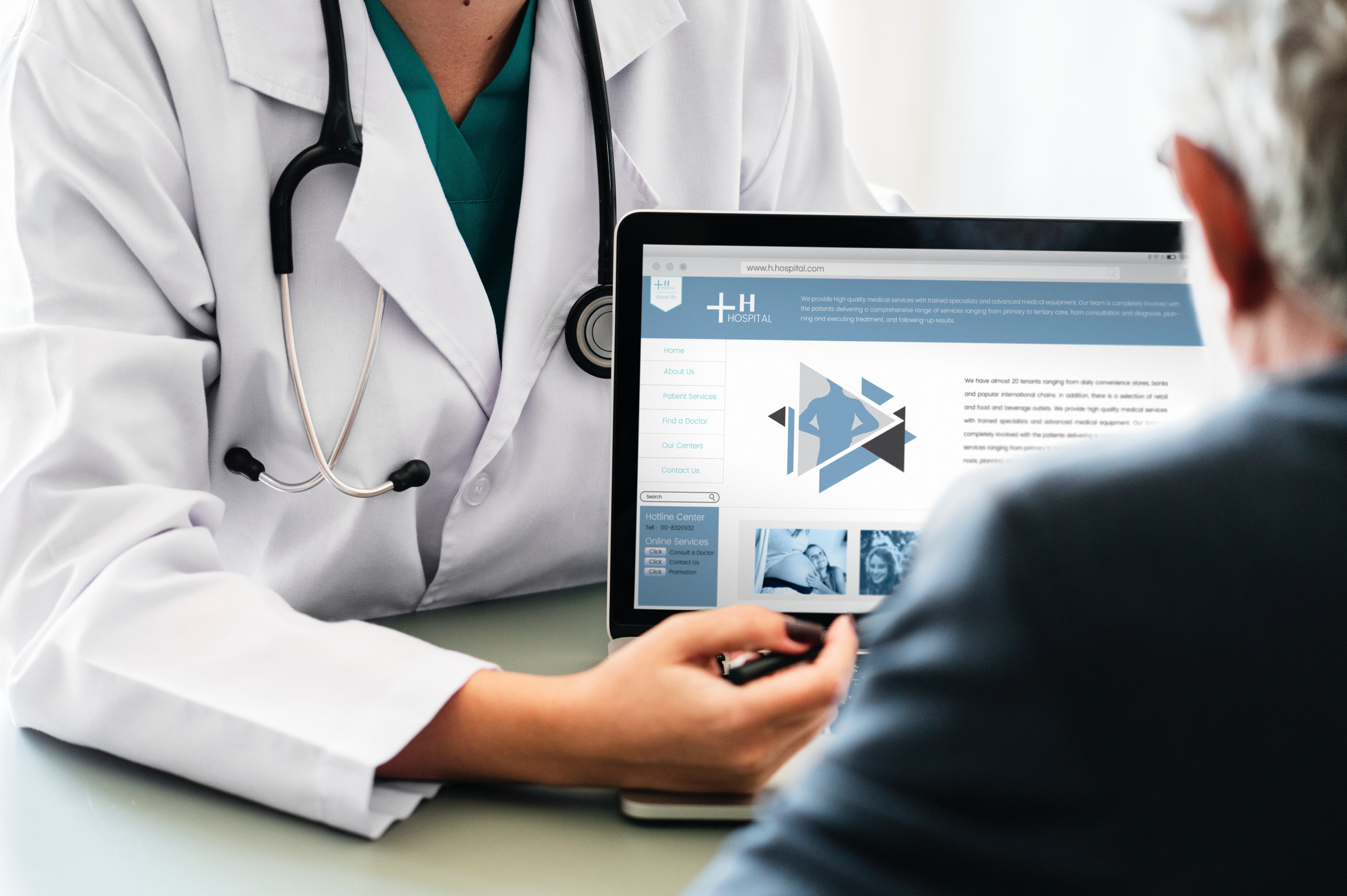 Engage with patients in the field