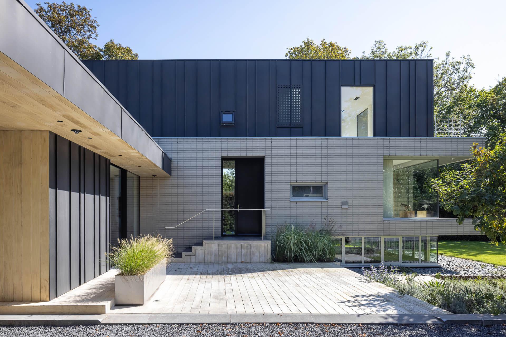 architect maarssen villa uitbreiding
