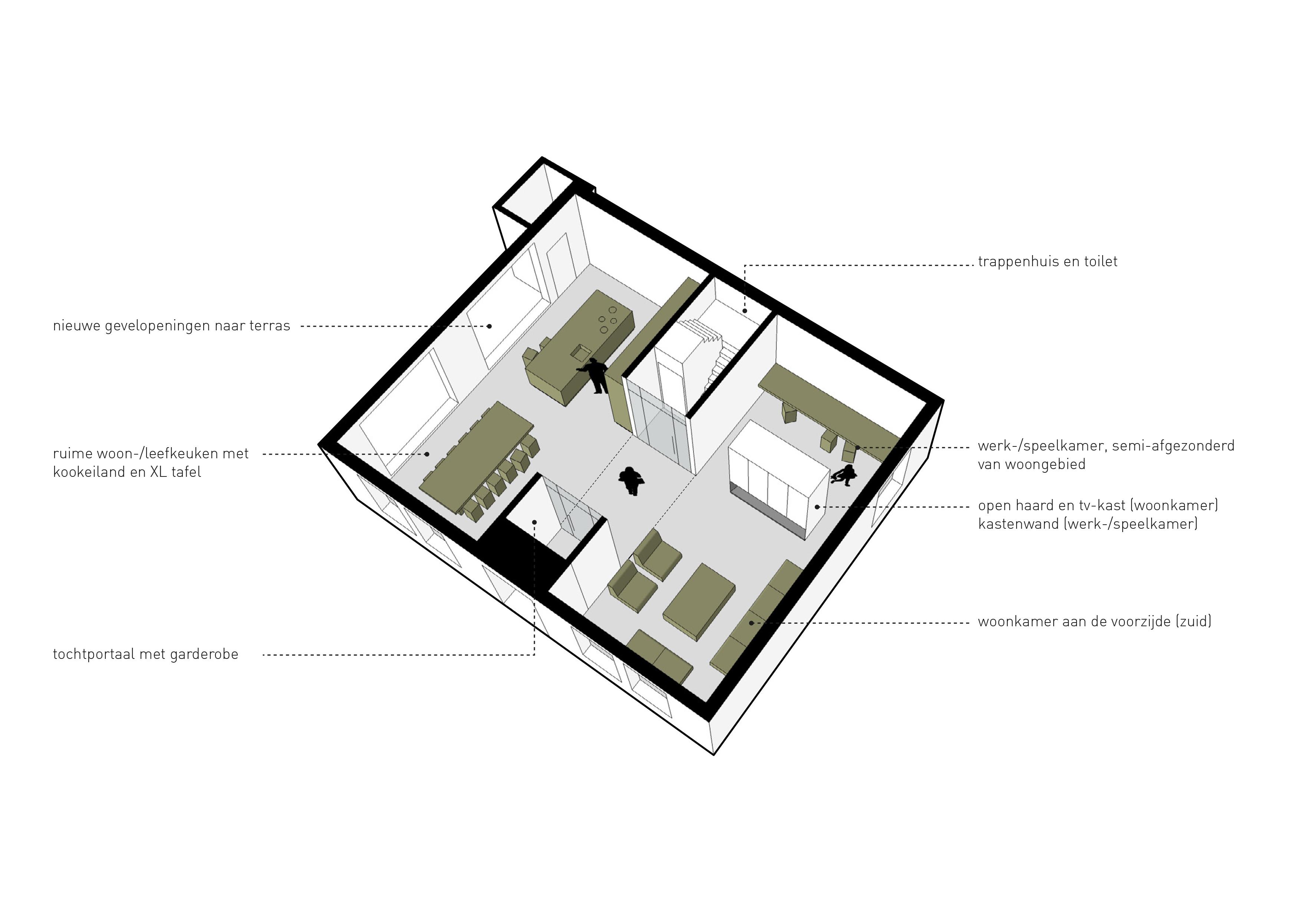 open haard architect huizen
