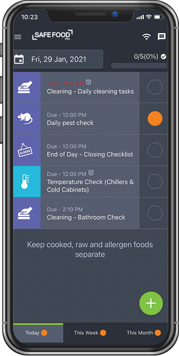 Food Safety App, Wireless Temperature Monitoring, Software for Restaurant Food Safety - , Safe Food Pro