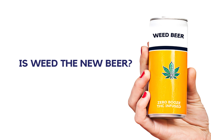 Is weed beer the new beer?  A deep dive into cannabis-infused beverages