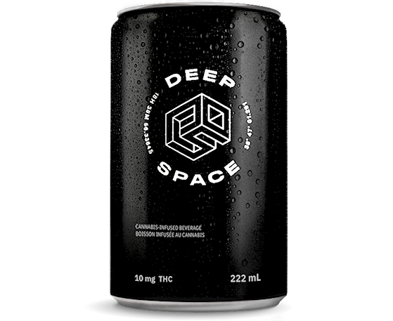 Top cannabis beverages in Canada: Deep Space