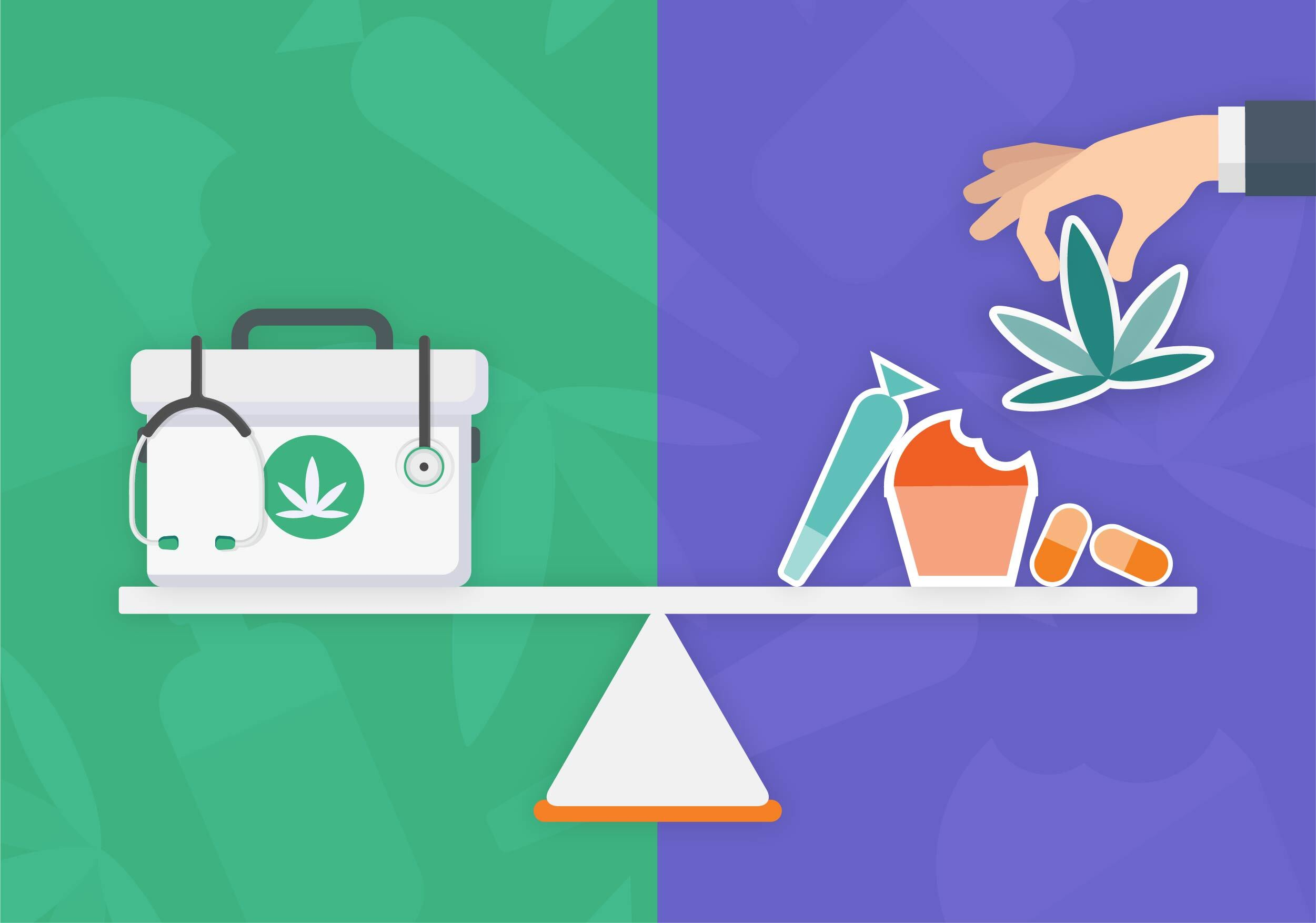 Comparing US medical and recreational market development