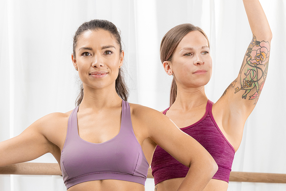 instructors group fitness barre female women