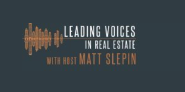 Real estate podcast Leading Voices interview with Colin Wiel