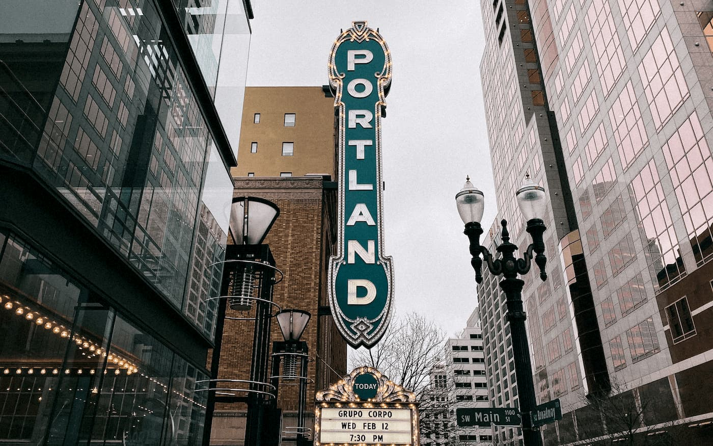 Portland, OR downtown perfect for rental properties