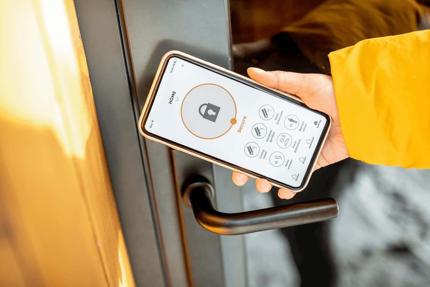 Smart locks at rental homes