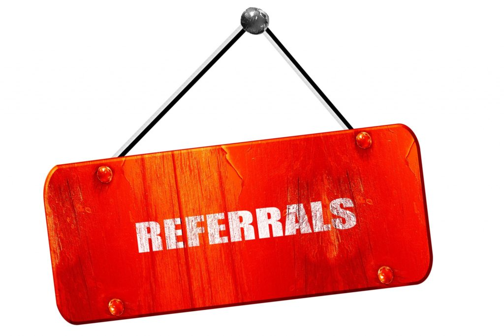 Asking for a referral
