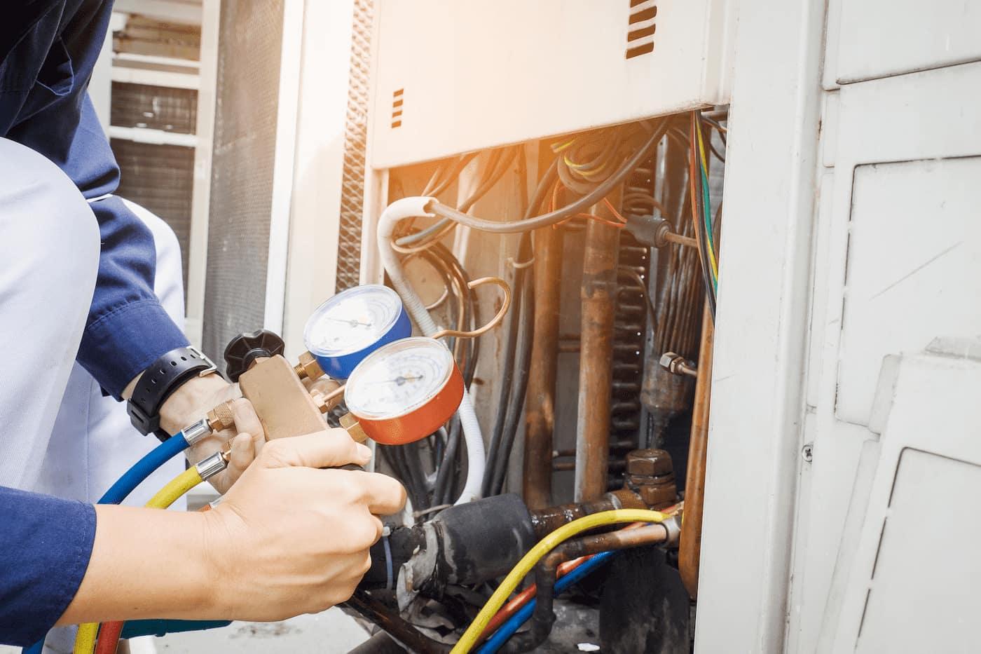 HVAC replacement maintenance
