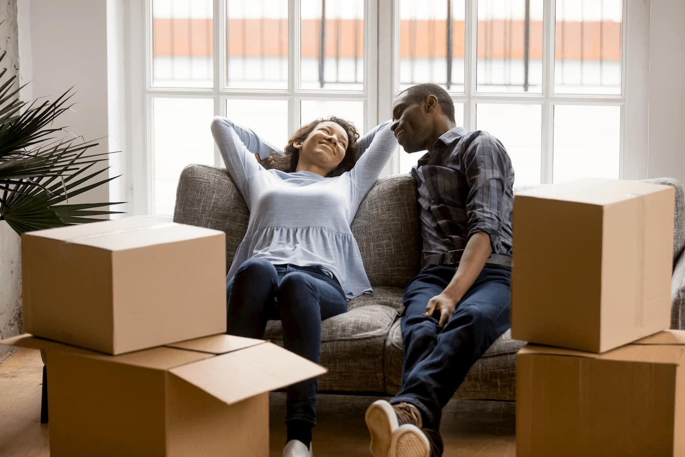 Rental property tenants moving out