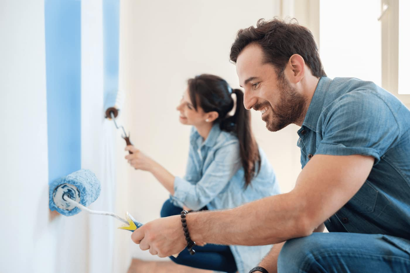 Fresh paint to maximize NOI at your rental property