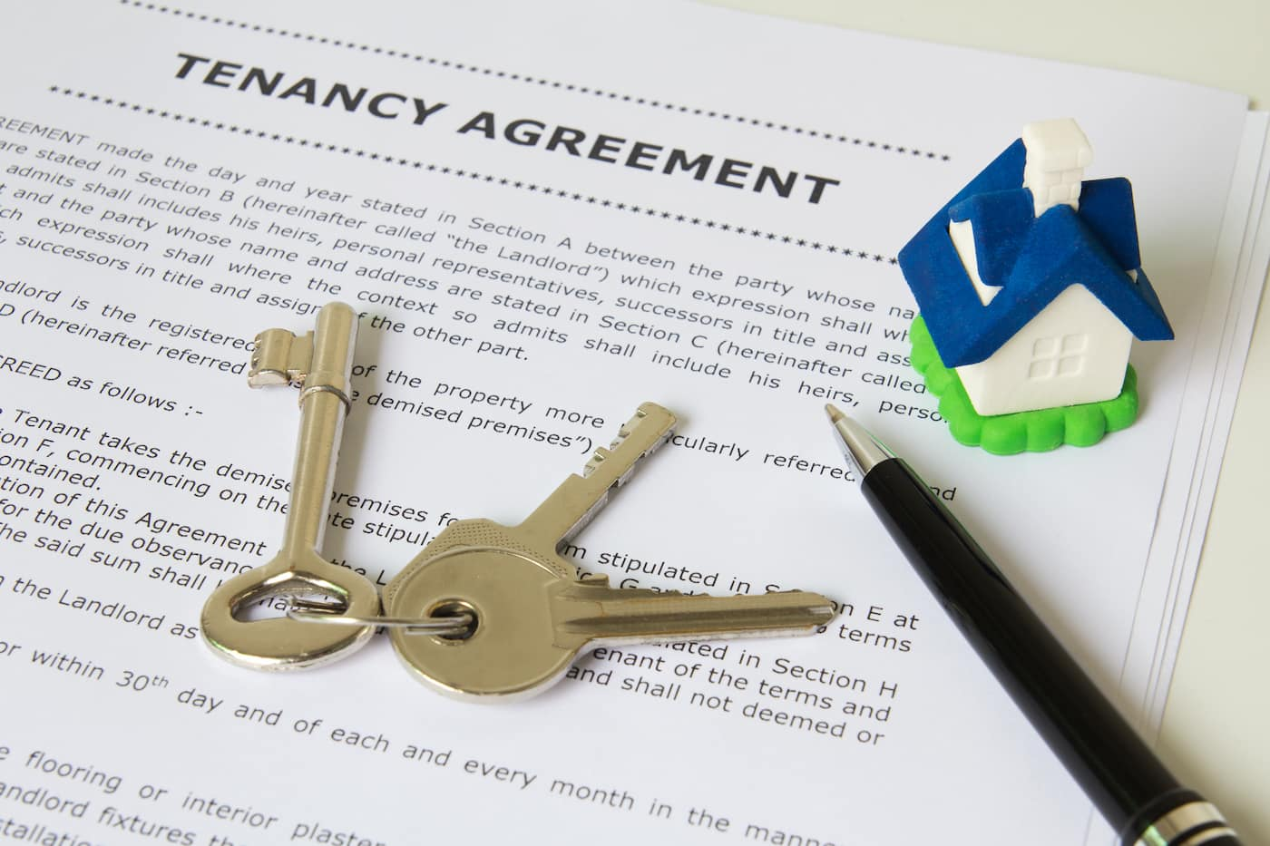 Can tenants stay at rental property after lease expires