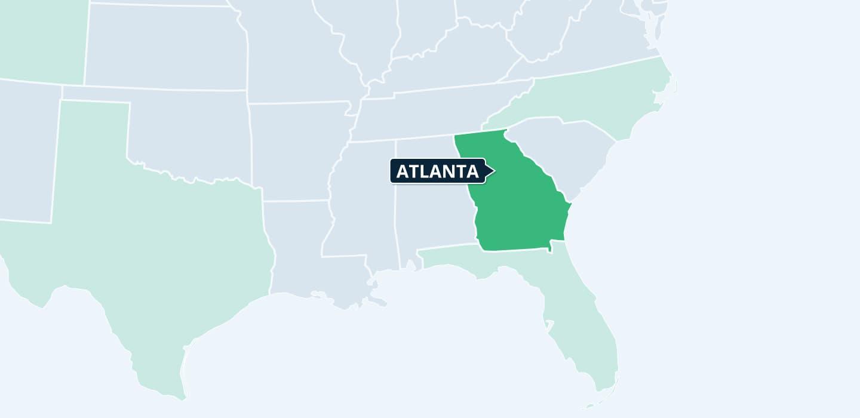 Georgia Mynd Management locations